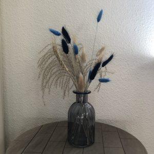 Blacking Blue - Droogbloemen in vaas