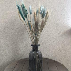 Bursting Blue - Droogbloemen in vaas