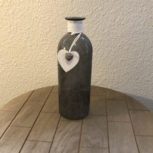 Donkere frozen vaas